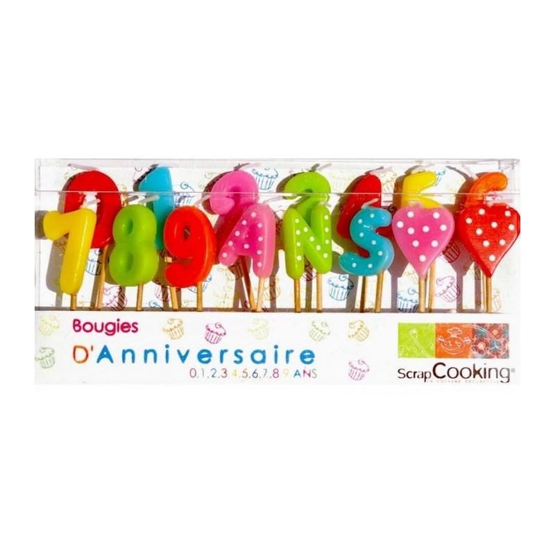 15 bougies d'anniversaire