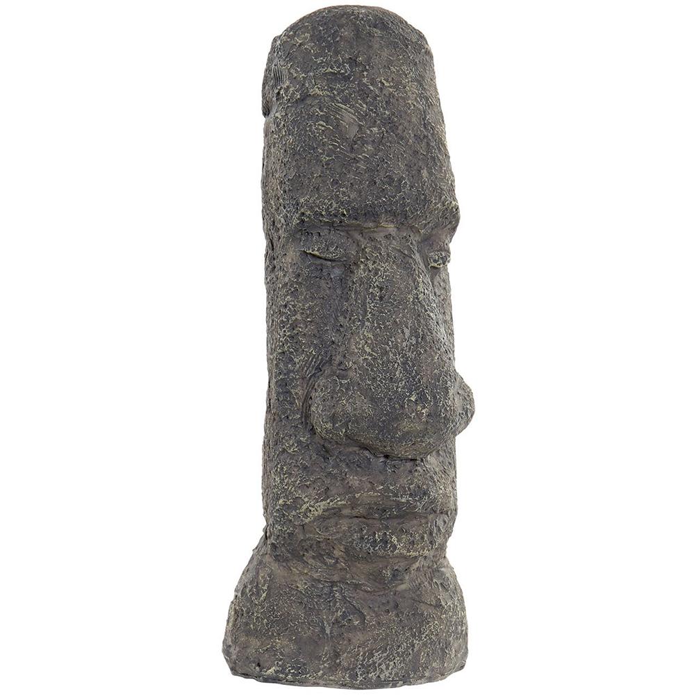 Statuette moai en résine H24cm