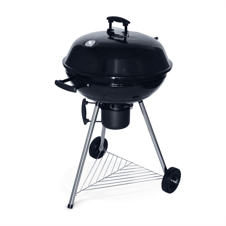 Barbecue charbon de bois ⌀57cm georges noir récupérateur de cendres