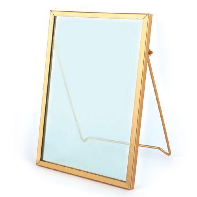 Cadre en verre vintage rectangle 13x18,5cm