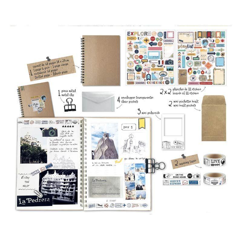 Kit carnet de voyage