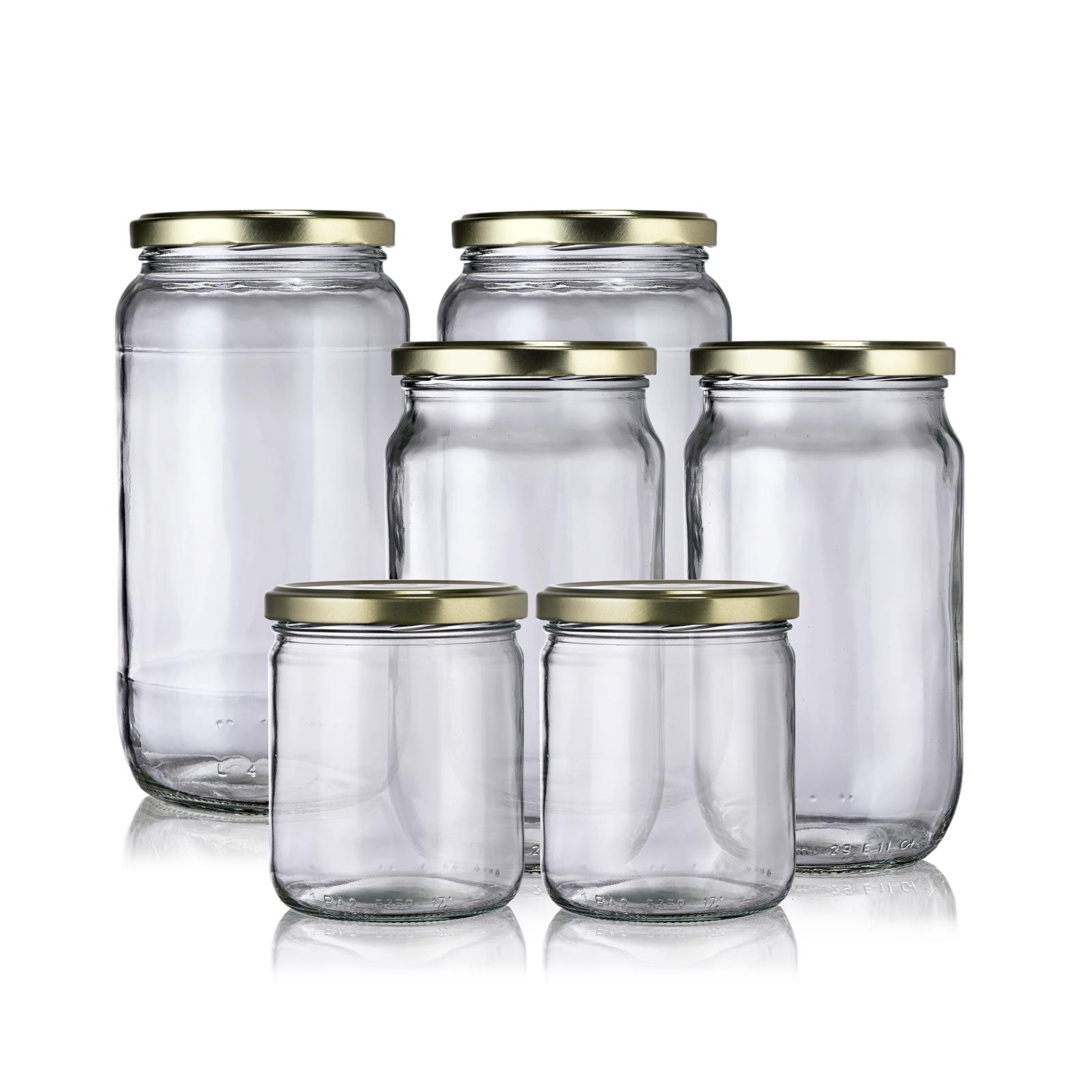Lot bocaux hermétiques verre zéro déchet Baluchon