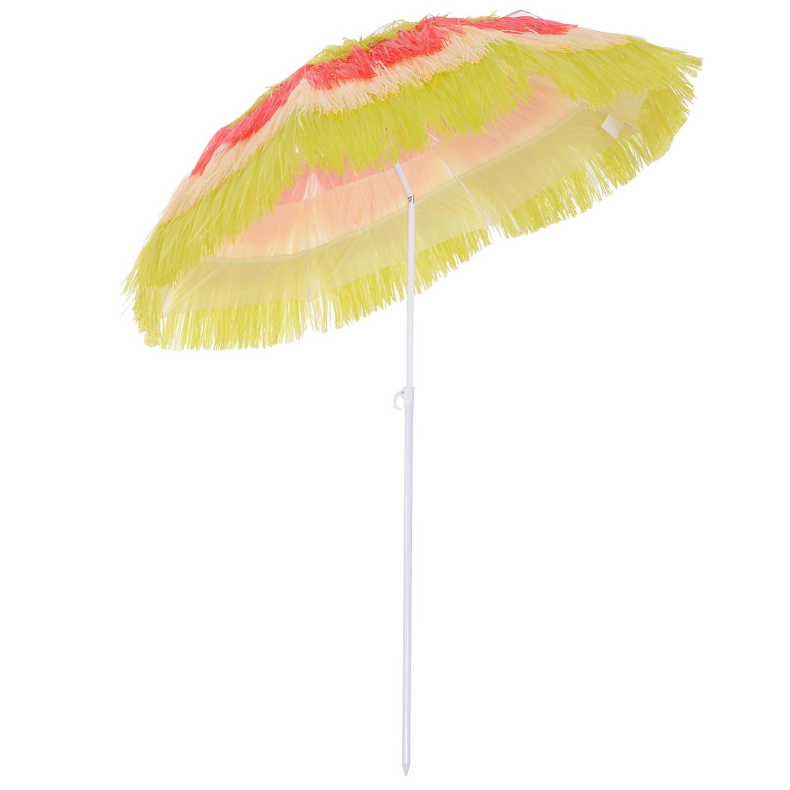 Parasol design Hawaï multicolore