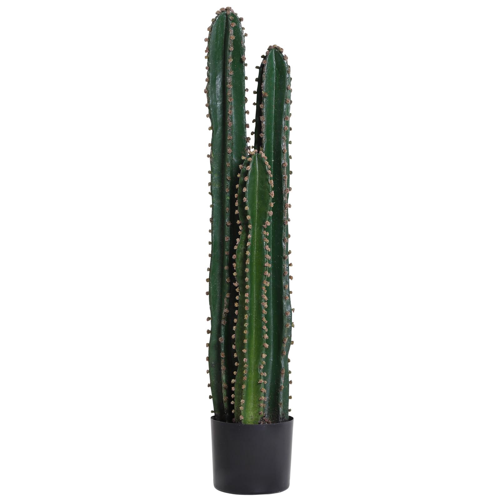 Cactus artificiel grand réalisme H1m