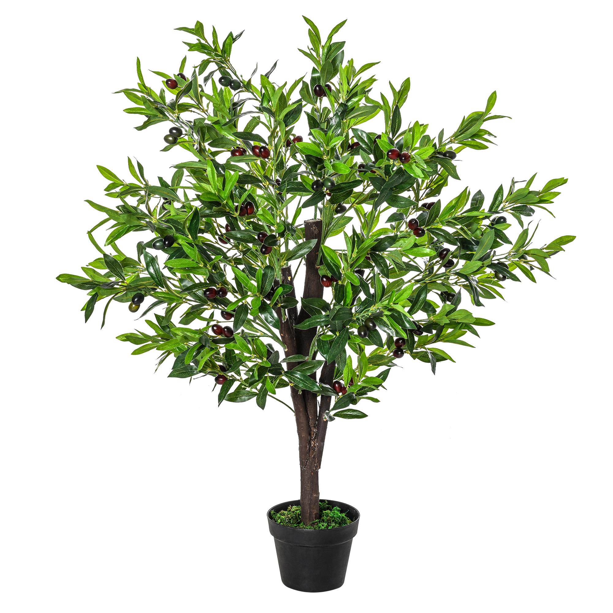 Arbre artificiel olivier H1,2m
