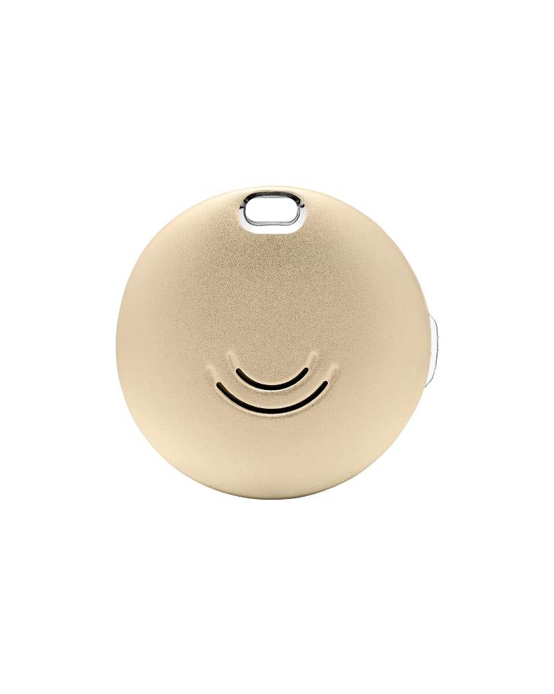 Porte-clés connecté or