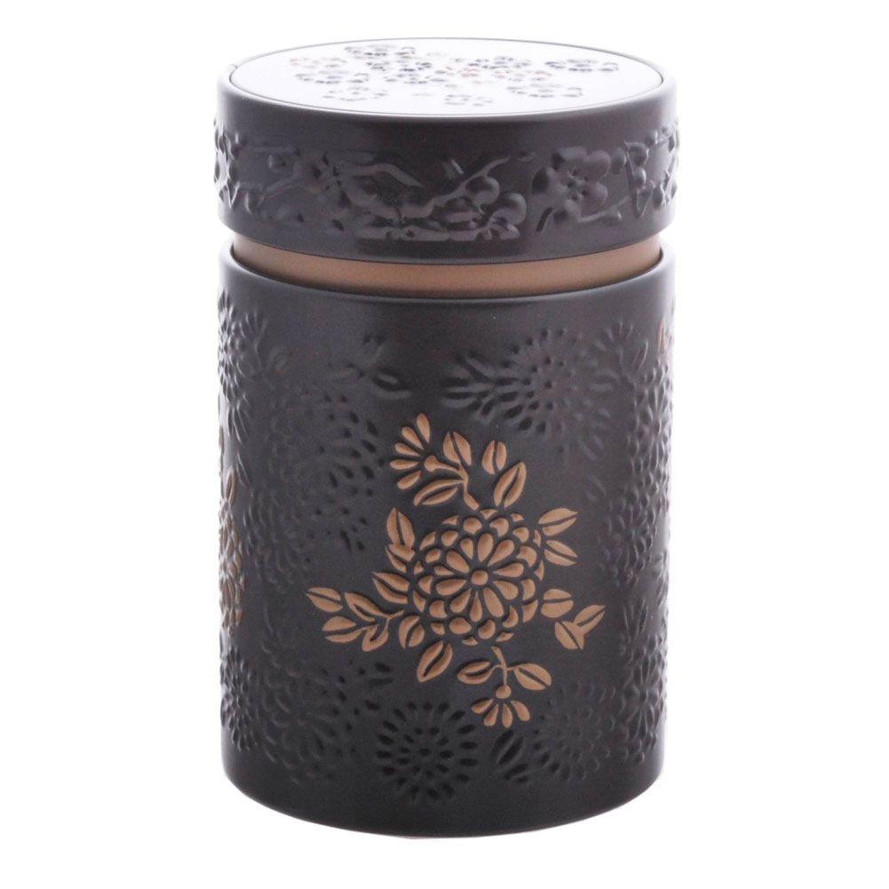 Petite boite noire pour le thé contenance 150g
