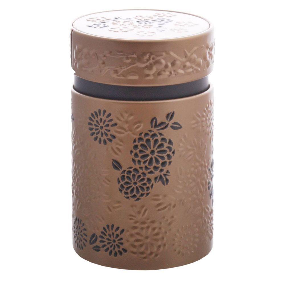 Petite boite or pour le thé contenance 150g