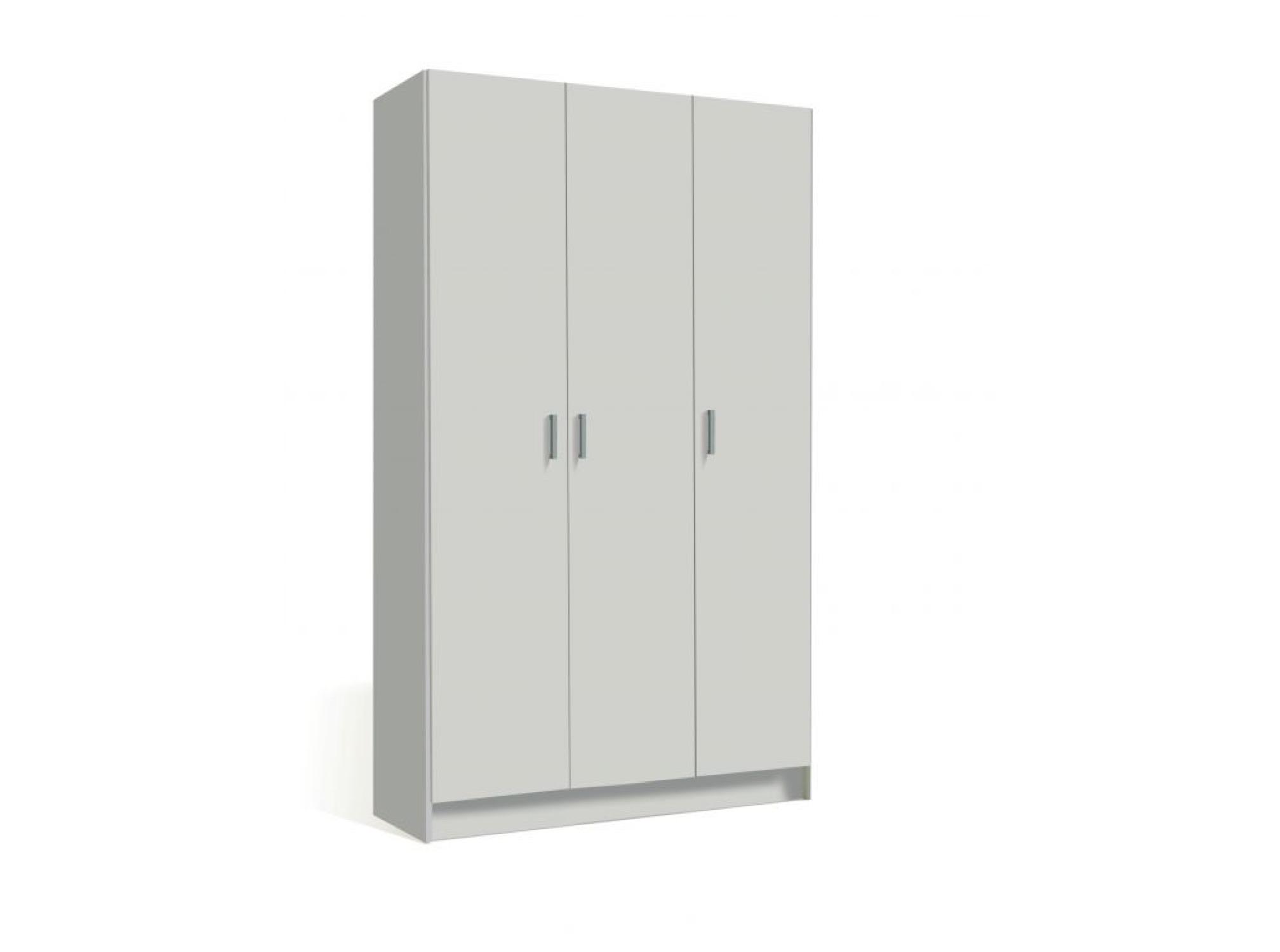 Armoire blanche 3 portes L108,8cm x H180cm