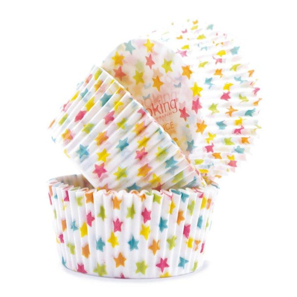 Caissettes pour cupcakes étoiles - Lot de 36