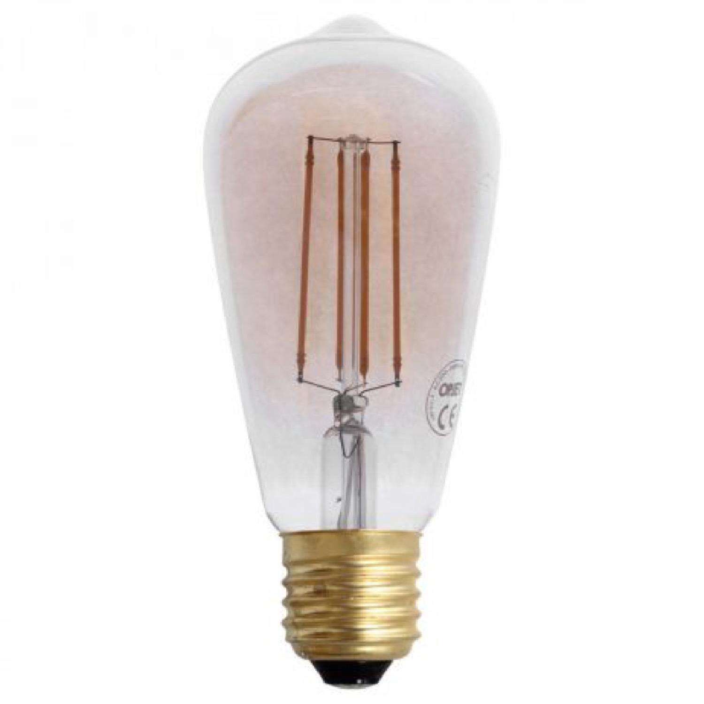 Ampoule à filaments LED dimmable vintage cône Edison (E27-4W)