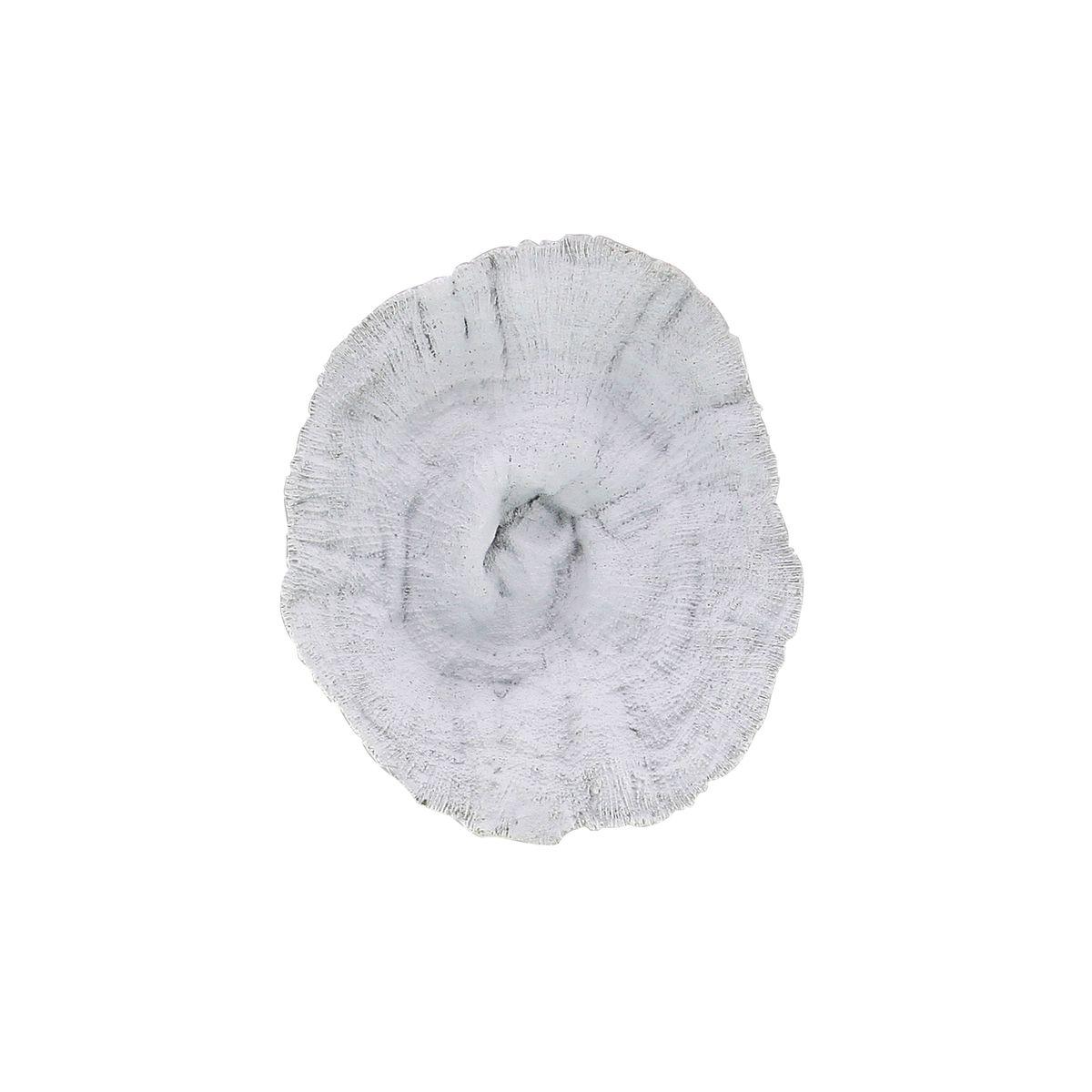 Corail décoratif en résine blanche H26