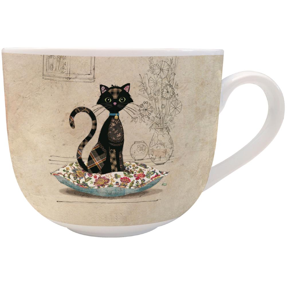 Bol céramique le chat et son coussin
