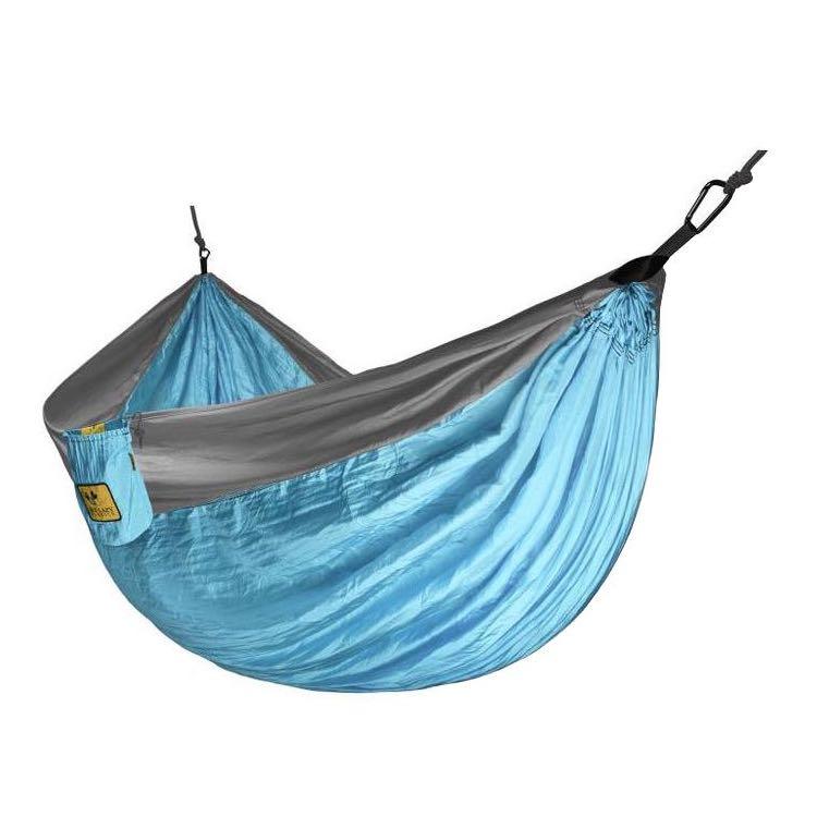Hamac en parachute bleu