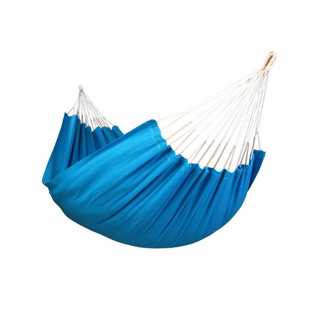 Hamac simple uni bleu