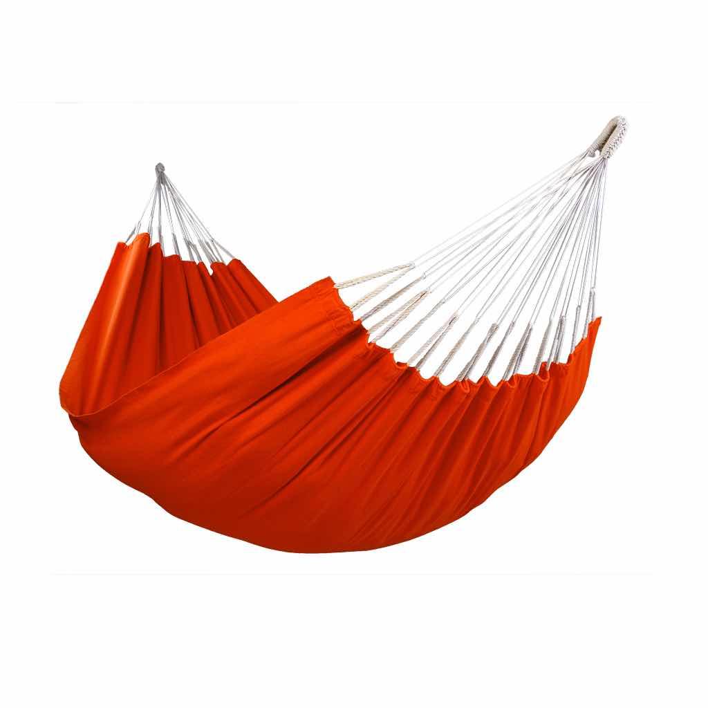 Hamac simple uni orange