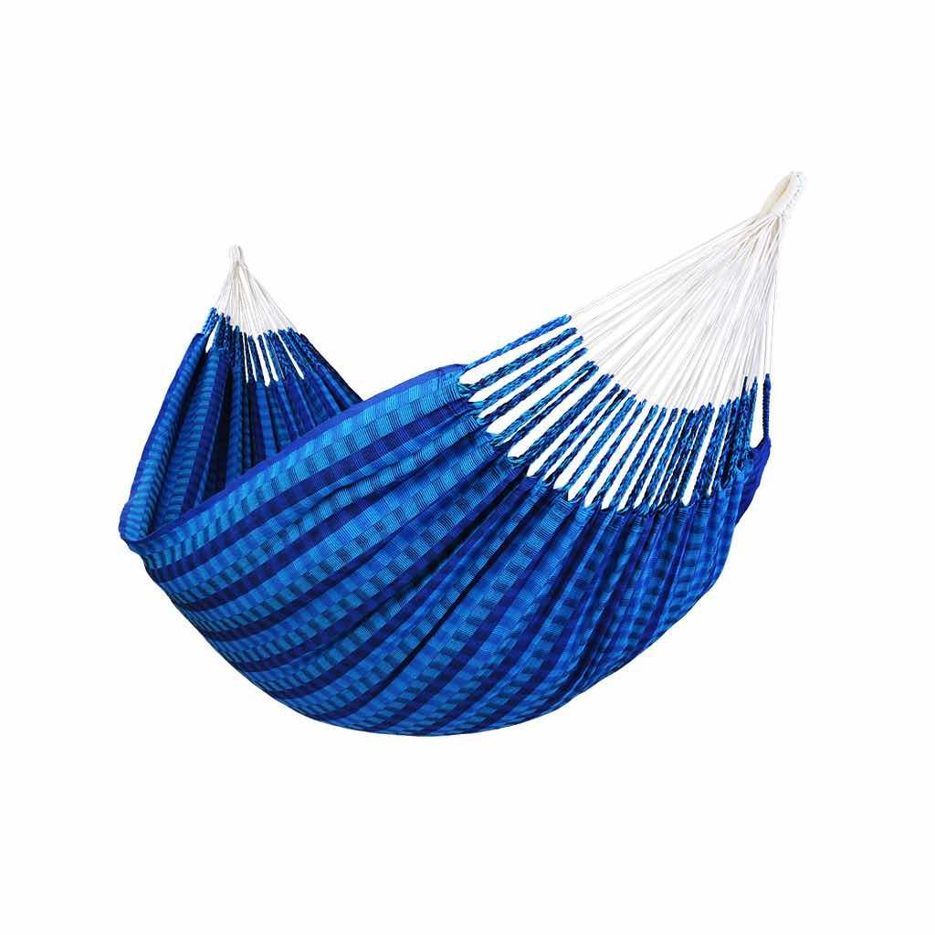 Hamac double de luxe bleu