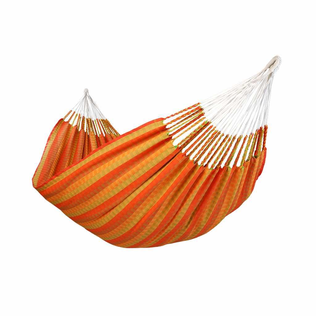 Hamac double de luxe orange