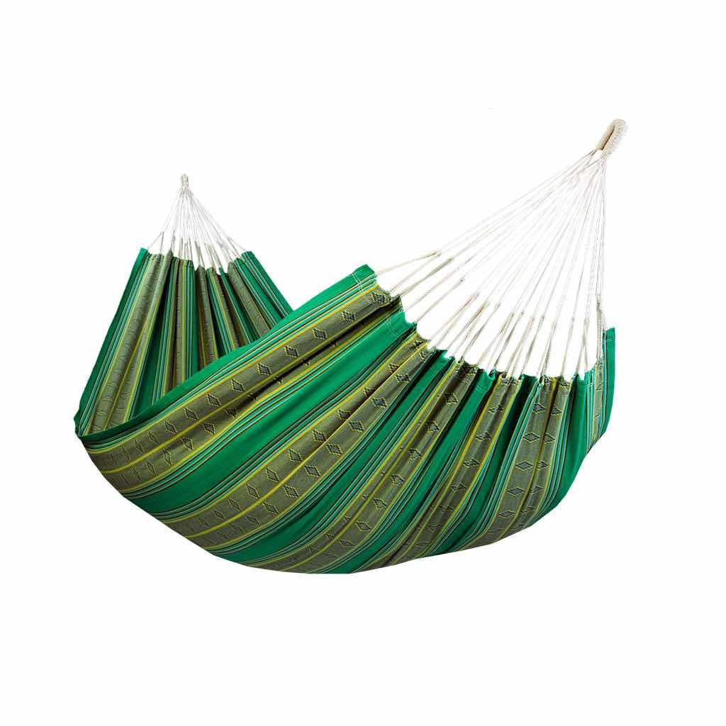 Hamac double de luxe vert