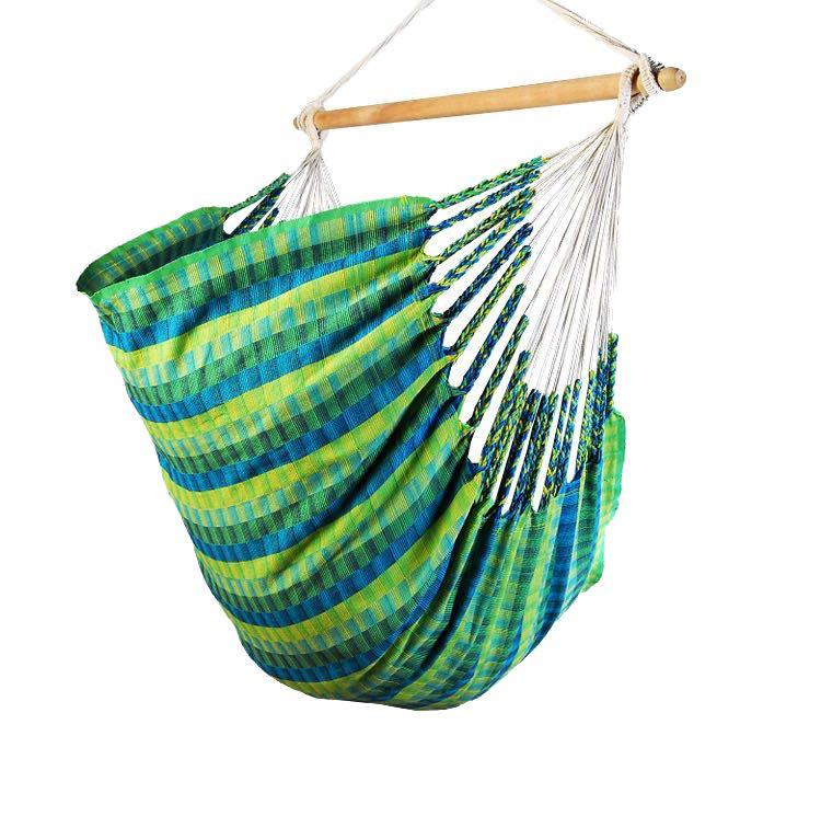 Hamac chaise vert