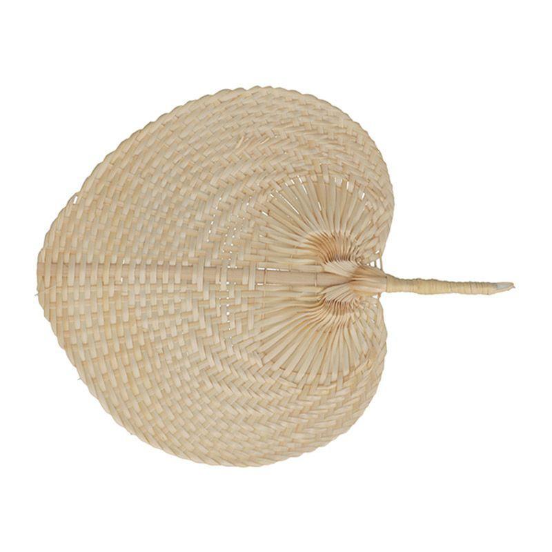 Eventail en bambou 37x30cm
