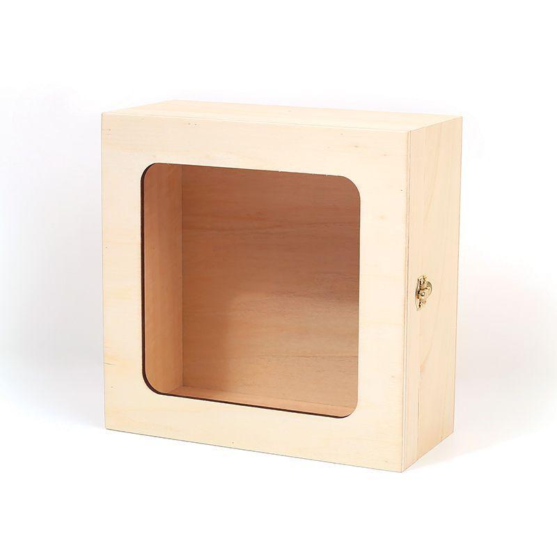 Boîte fenêtre 21x21x10cm