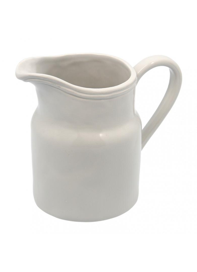 Pichet en céramique grise