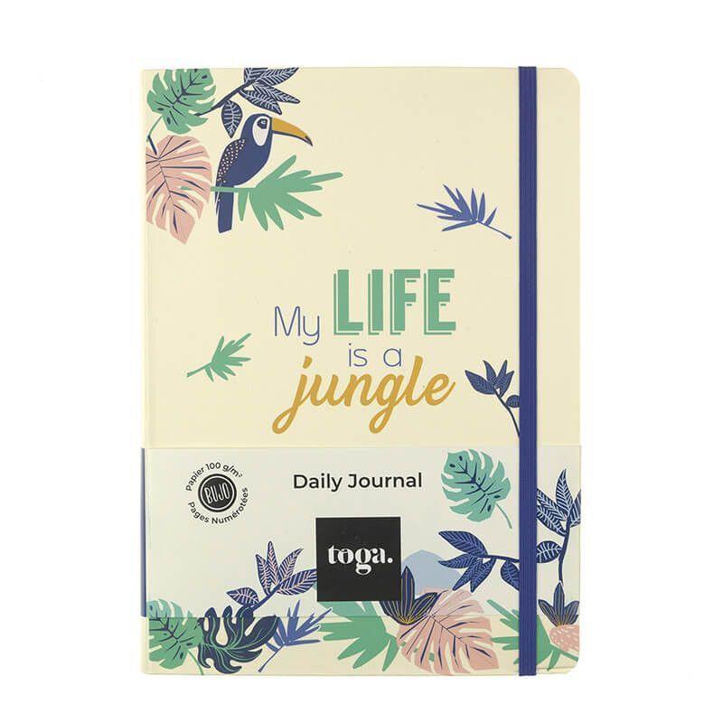 Bullet journal jungle vibes