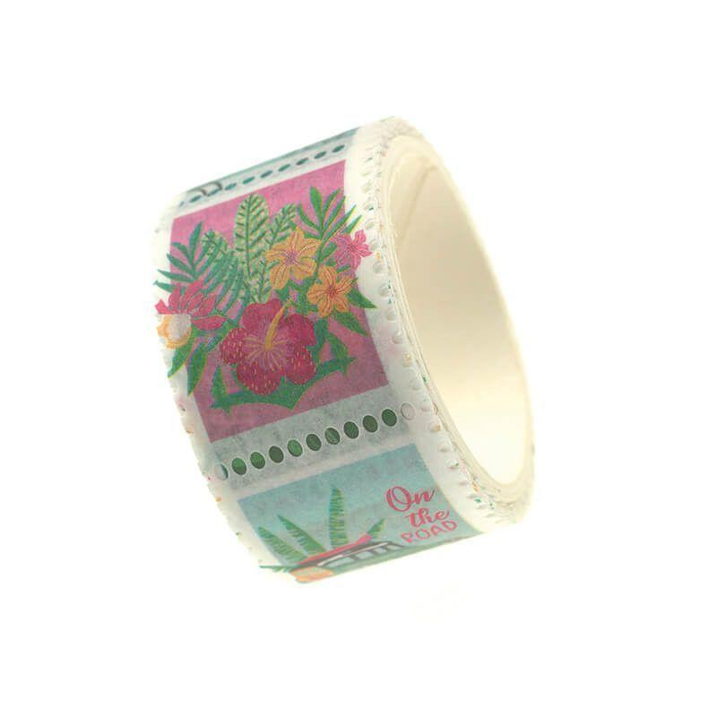 Masking tape tropical green 3m