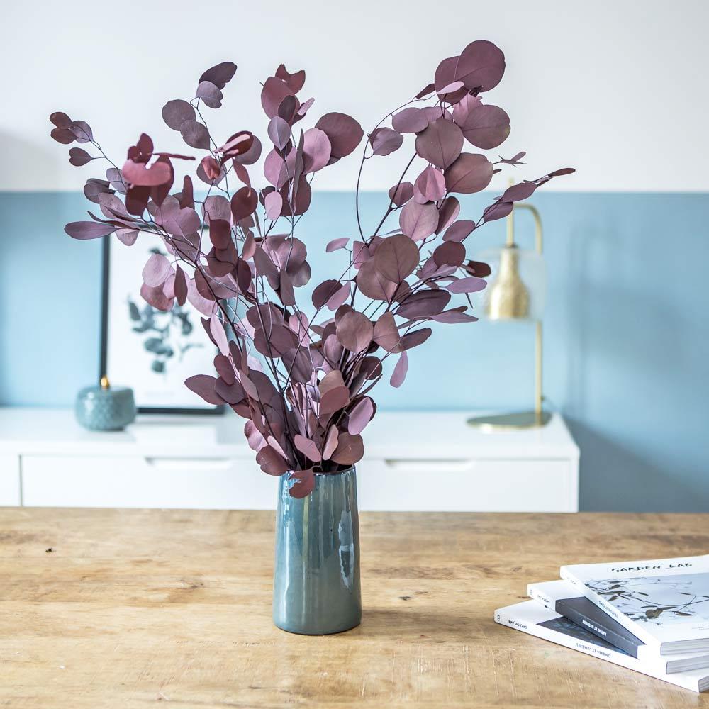 Botte de fleurs séchées eucalyptus populus rouge