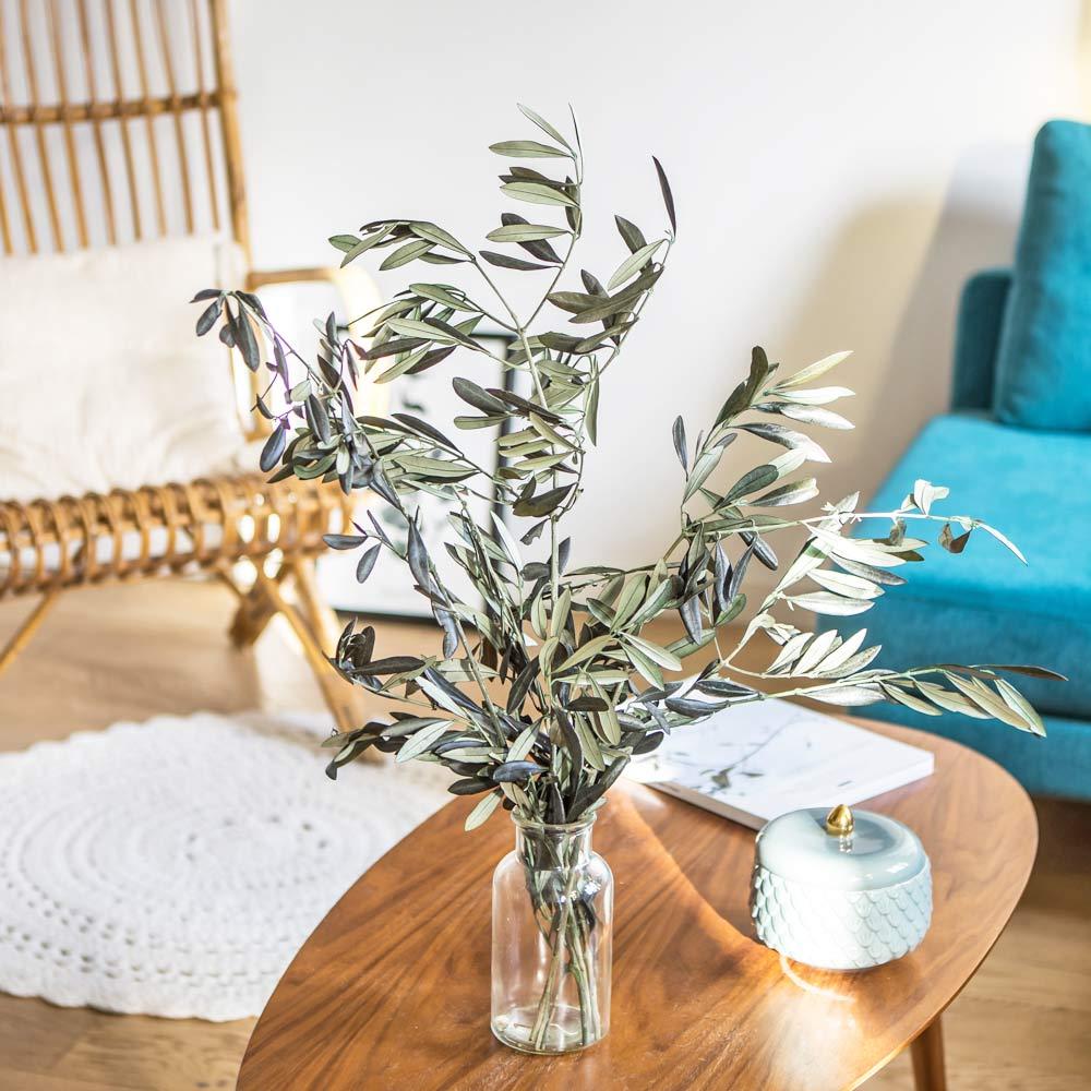 Botte de fleurs séchées olivier de Provence stabilisé