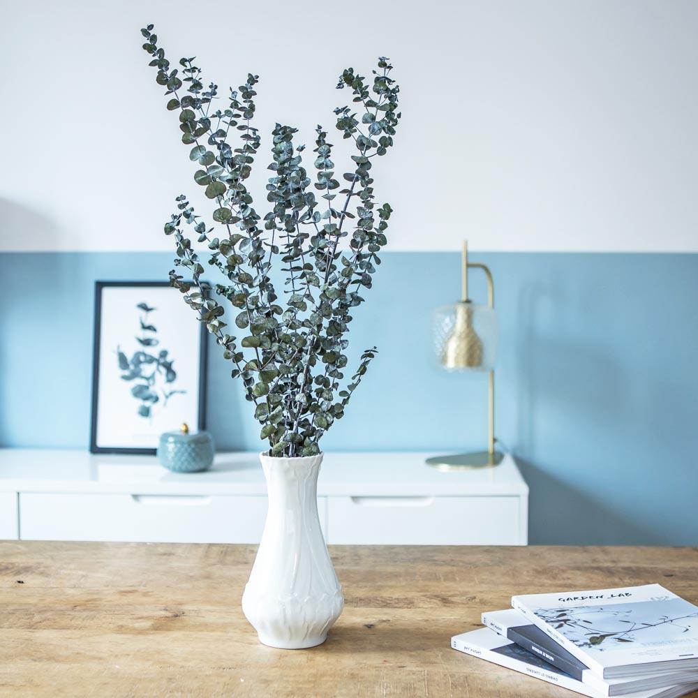 Botte de fleurs séchées eucalyptus baby stabilisé