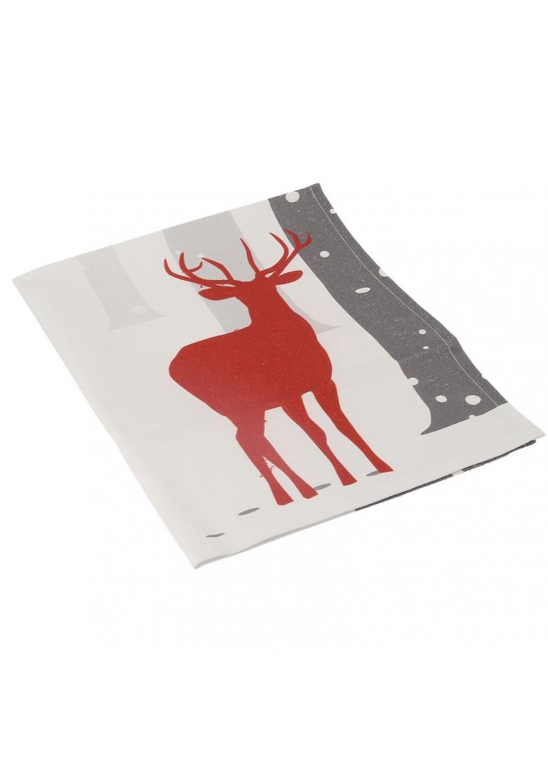 Serviette de table forest en coton 50x50