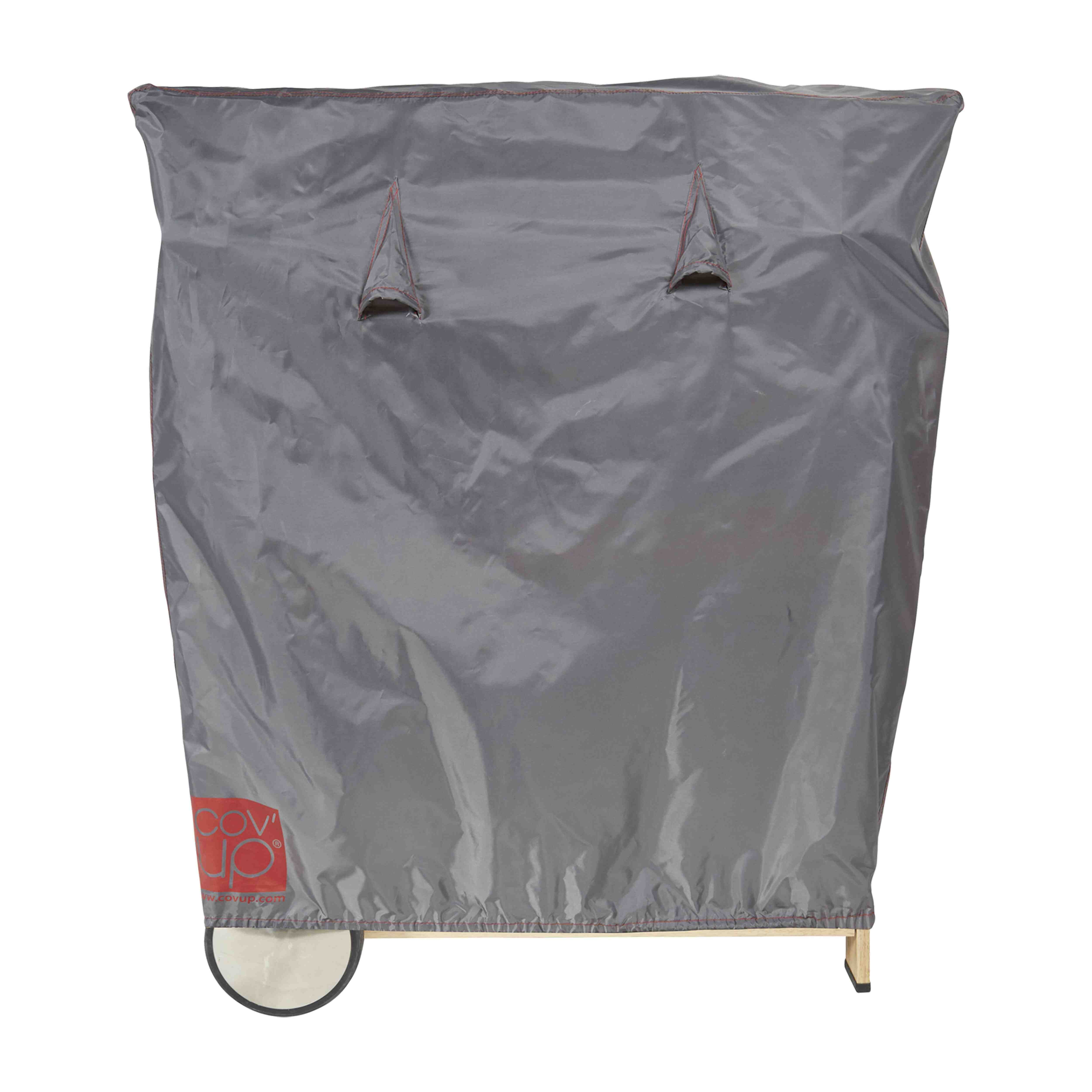 Housse de protection barbecue L en polyester gris