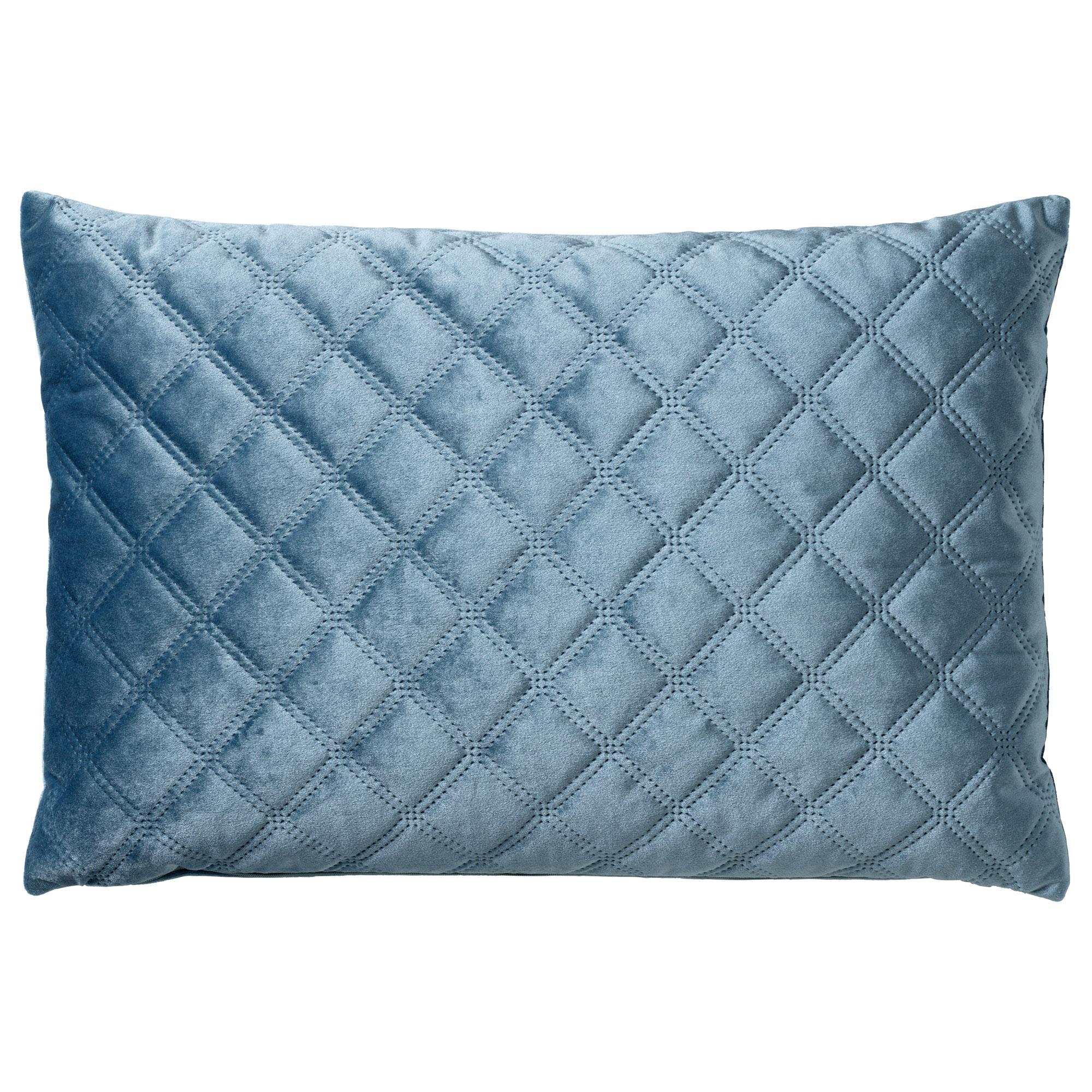 Coussin en velours Bleu 40x60