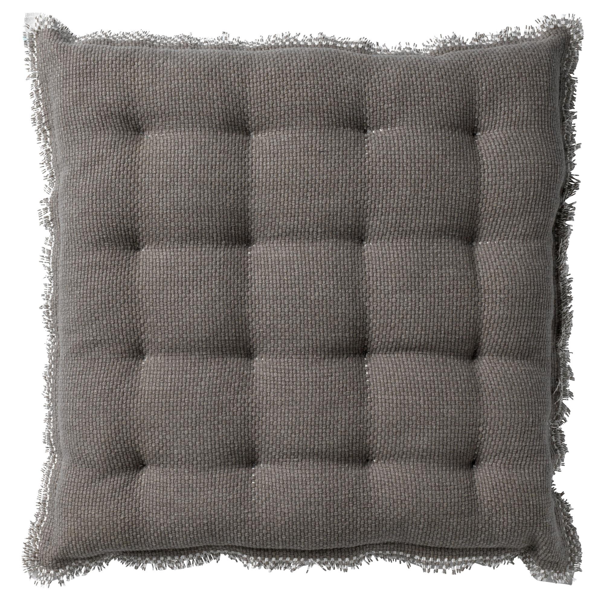 Coussin de sol en coton Marron 40x40