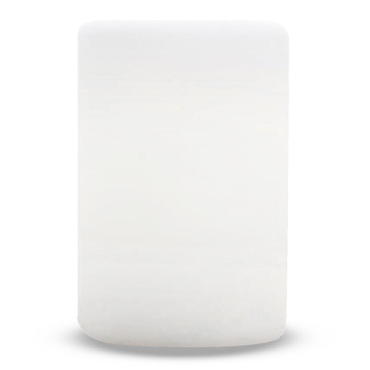 ALTY-Décoration lumineuse plastique blanc H24cm