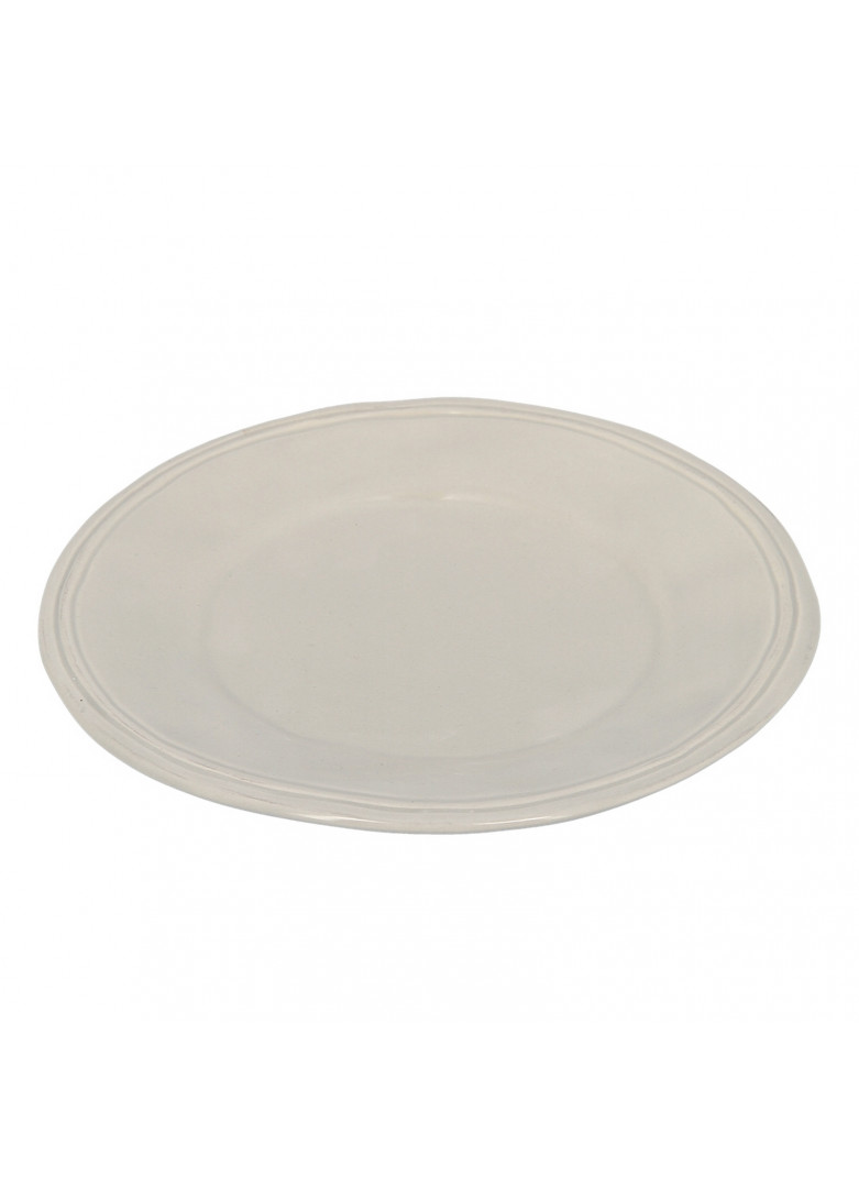 Assiette à dessert en céramique grise D21cm