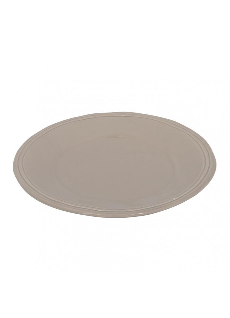 Assiette à dessert en céramique beige D21cm