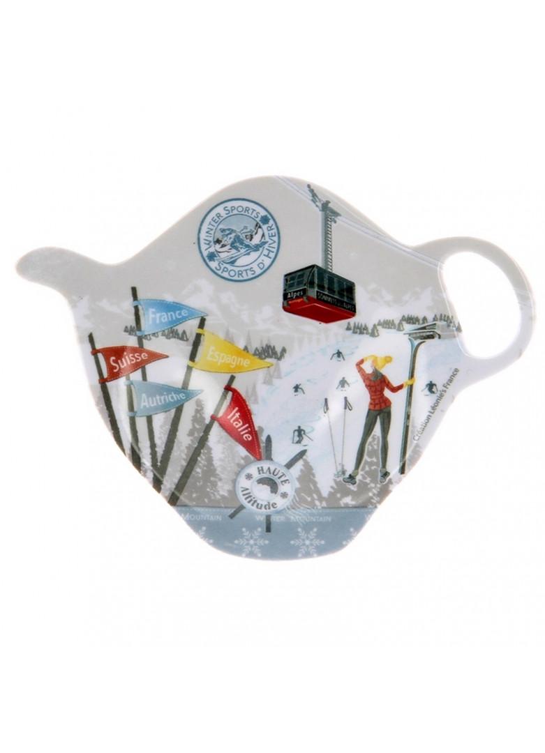 Repose sachet thé en céramique