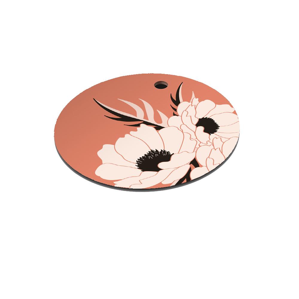 Dessous de plat en bois scarlet