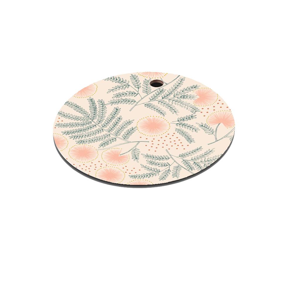 Dessous de plat en bois albizia