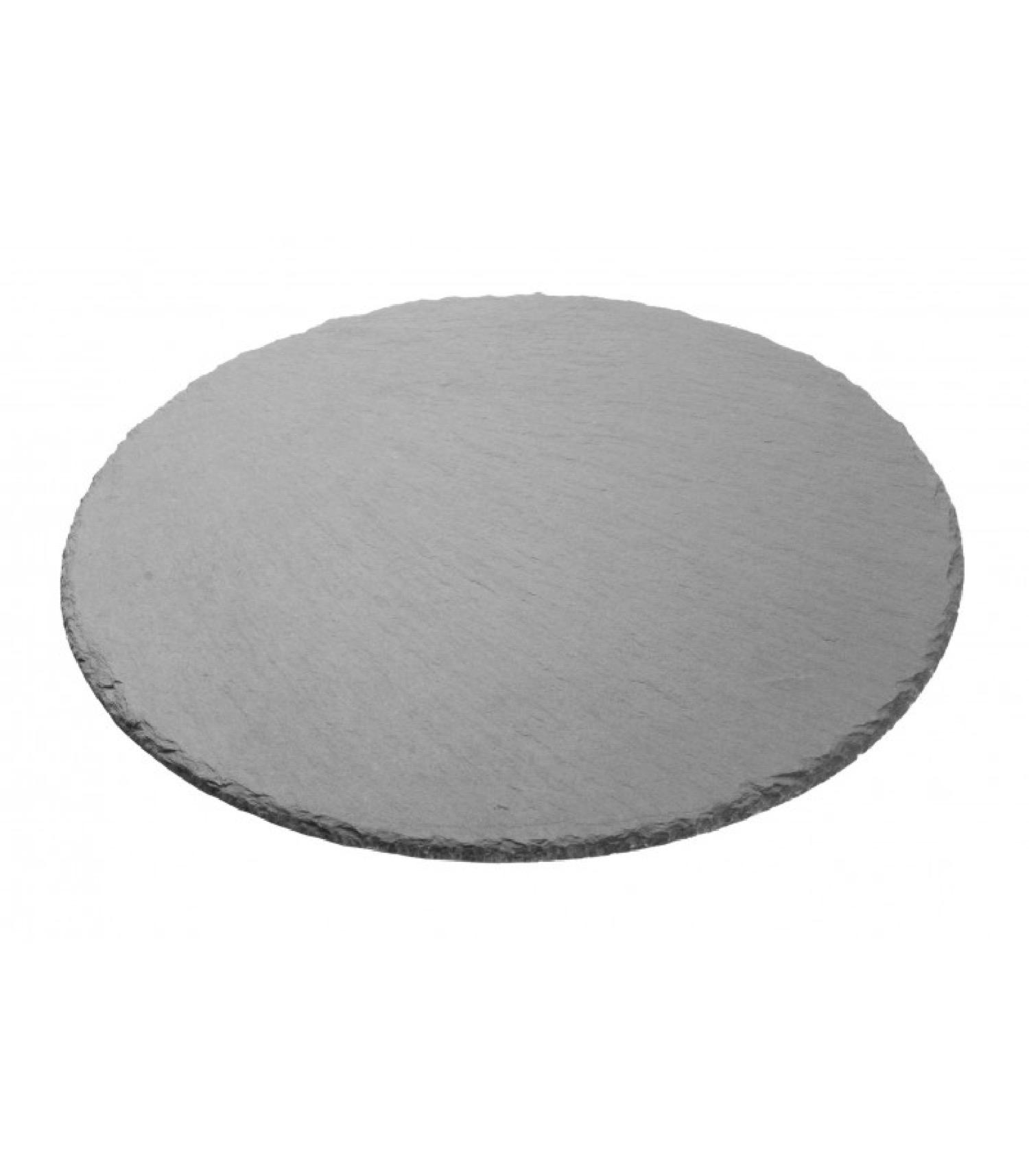Assiette en ardoise ronde D30cm