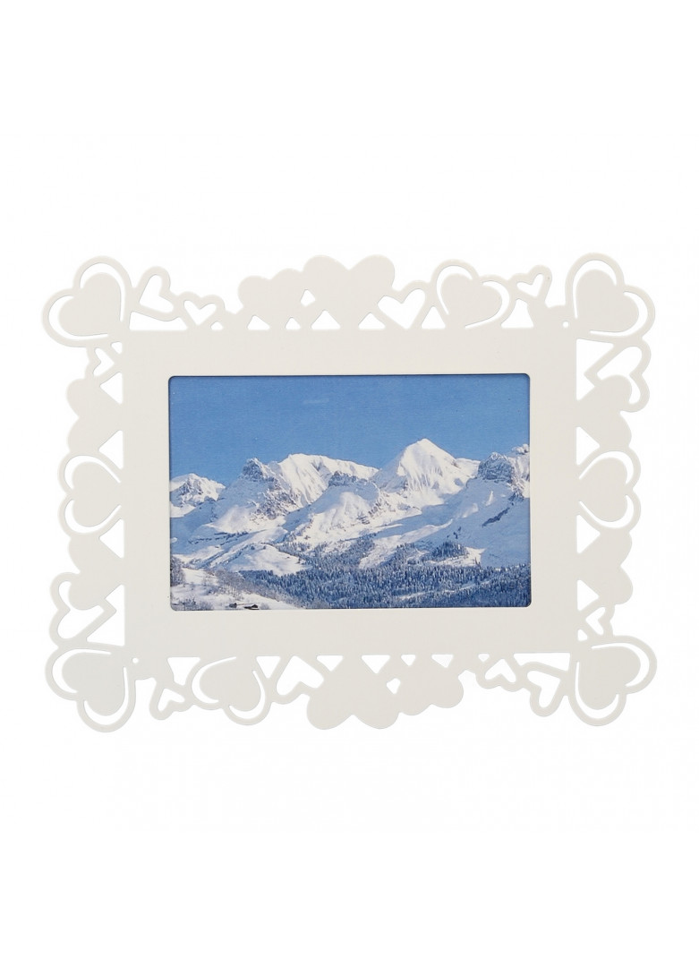 Cadre photo blanc 13x18cm