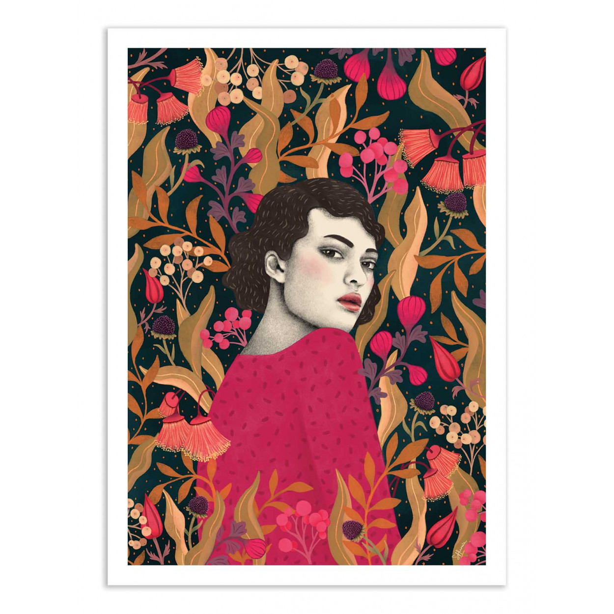 MUNA -  Affiche d'art 50 x 70 cm