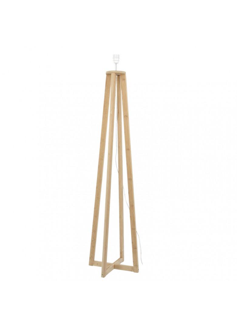 Pied de lampadaire en bois H120cm