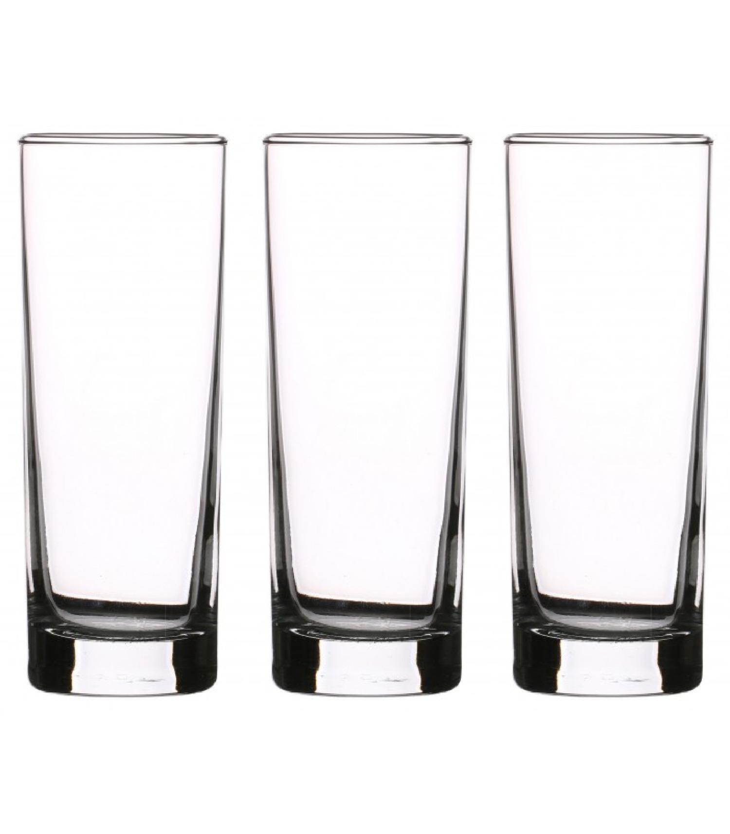 Verres à cocktail hauts en verre 22cl - Lot de 3