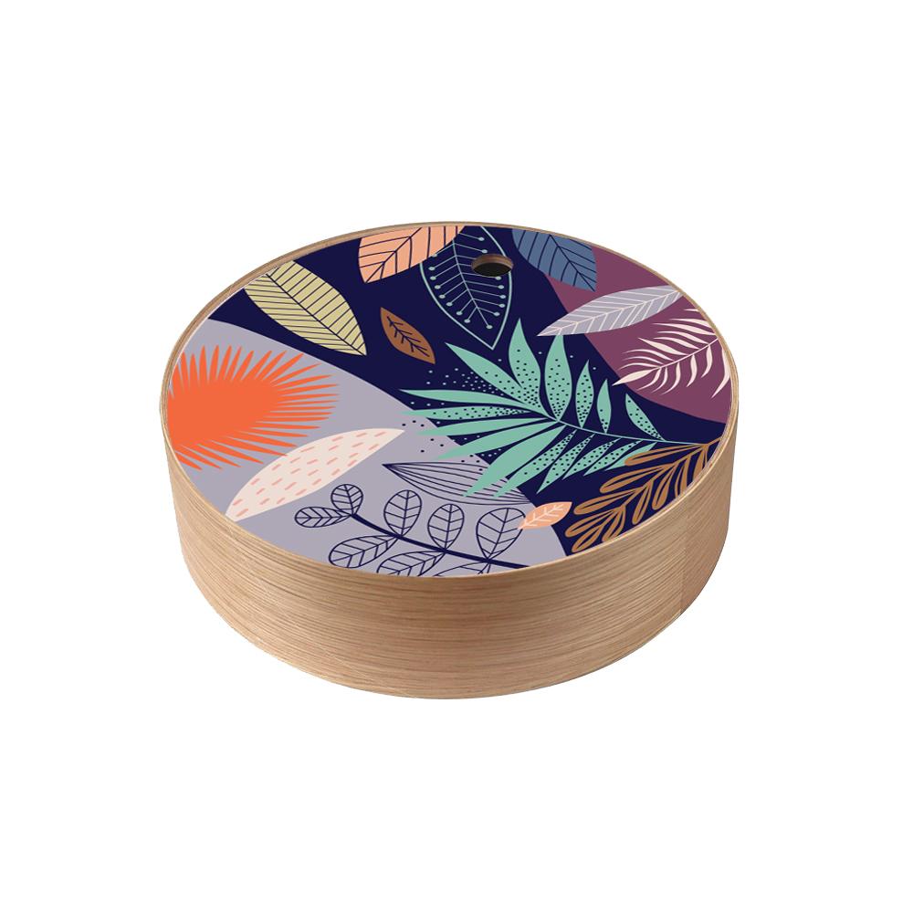 Boîte de rangement en bois Exotic  taille M