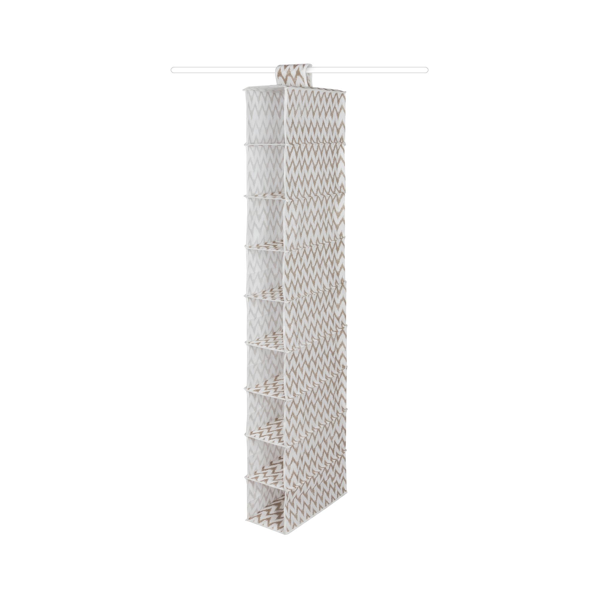 Étagère souple à suspendre 9 niveaux H128cm (photo)