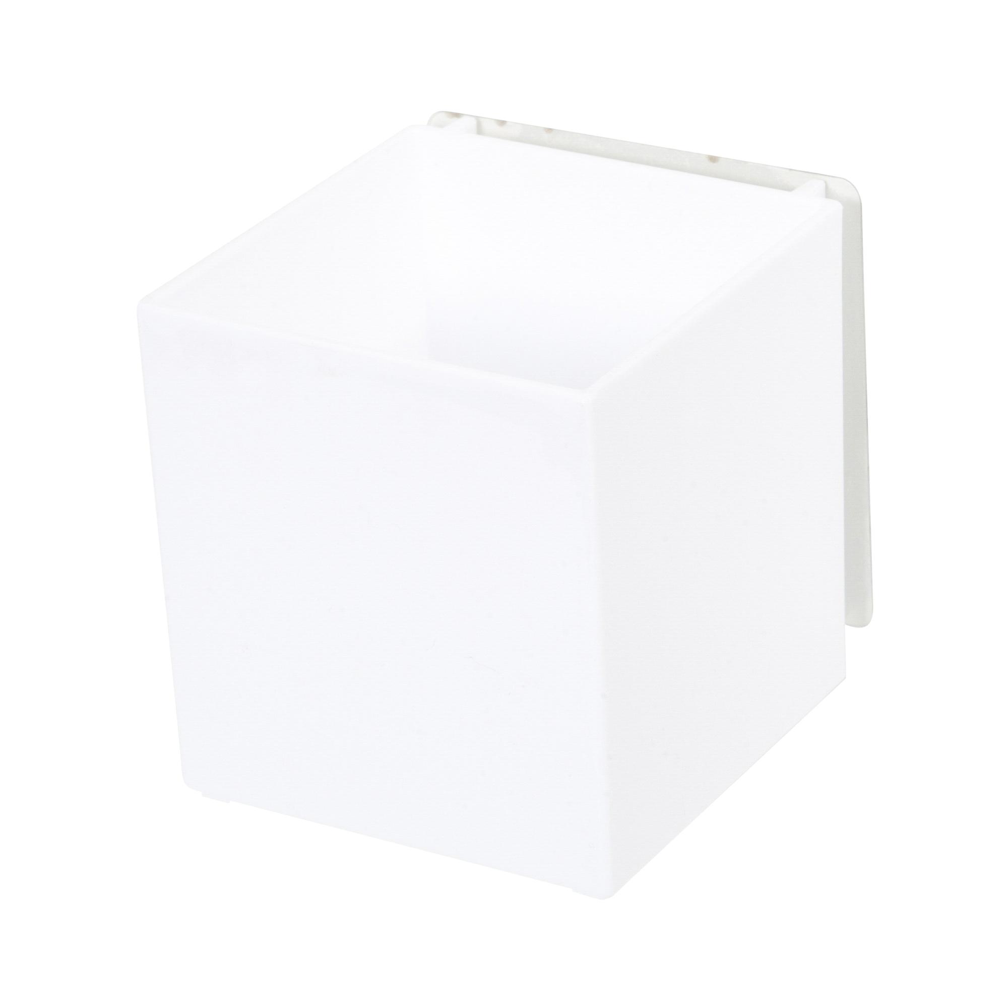 Boîte de rangement auto-adhésive